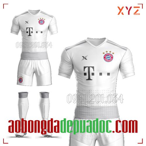Áo Bayern Munich 2020 Sân Khách Màu Trắng Đẹp Và Độc