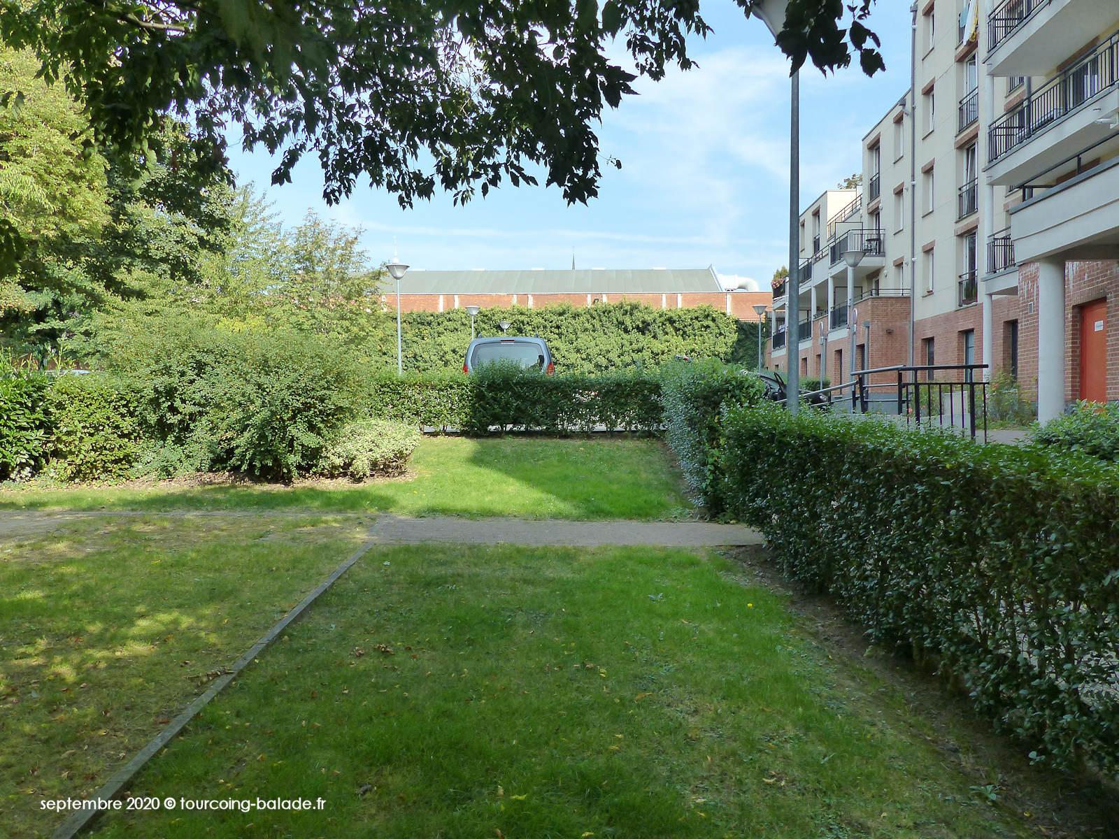 Jardin Résidence Turenne, Tourcoing 2020