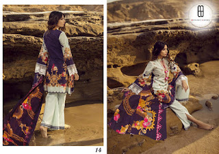 Eman Adeel Vol 2 Lawn Pakistani Style Suits Collection