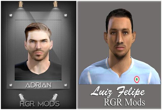 Adrián & Luiz Felipe Face PES 2013