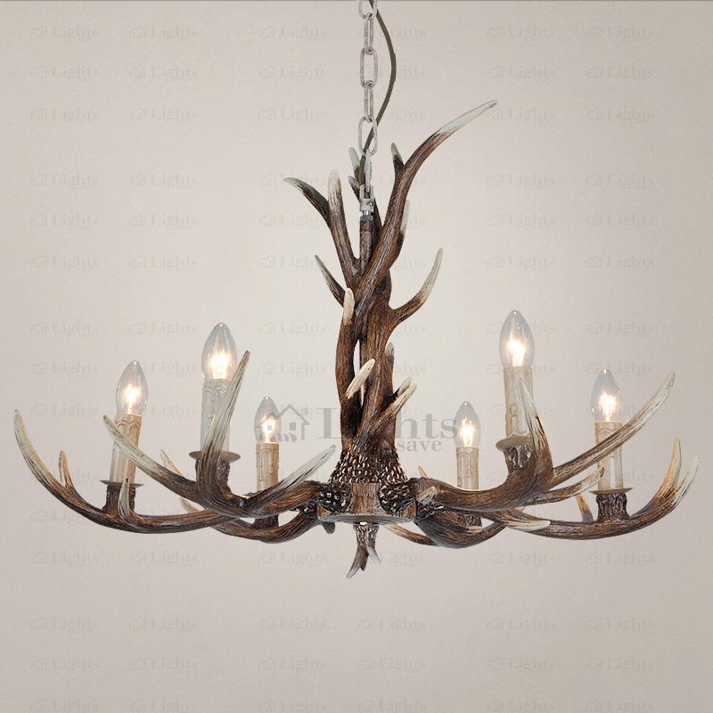 Designed Antler Vintage Chandeliers For Home