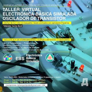 TALLER VIRTUAL Electronica Basica ¡Dede Bogotá!