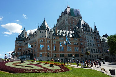 chateaux frontenac quebec city canada