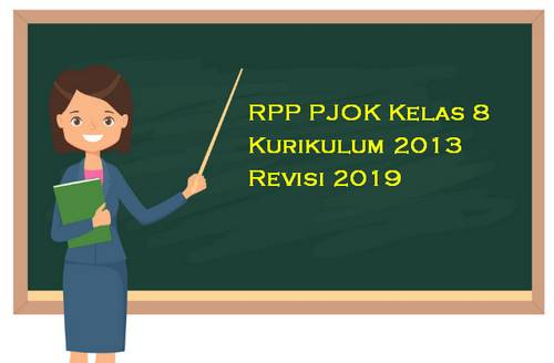 RPP PJOK Kelas 8 Kurikulum 2013 Revisi 2019