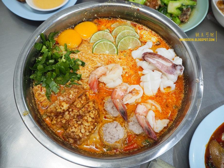 [曼谷吃喝篇] Jeh O Chula 人气爆表深夜美食MAMA面 (11pm后才开卖)