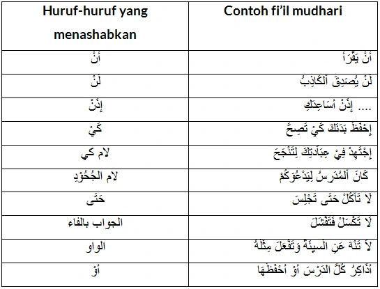 Lengkap : Pembagian Fiil Madhi dan Fiil Mudhari Beserta Contohnya Dalam bahasa Arab