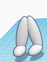 making legs and feet