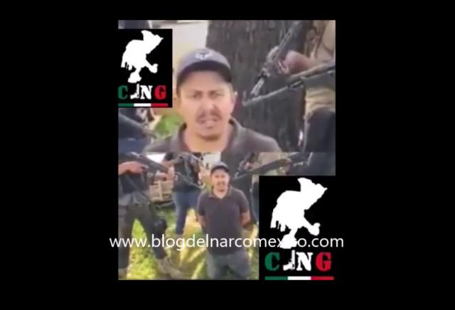 Video: Sicarios del CJNG levantan, interrogan y descuartizan a Juan Carlos Nuñez integrante del Cártel De Sinaloa en Zacatecas