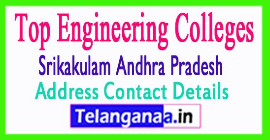 Engineering Colleges in Srikakulam District Andhra Pradesh