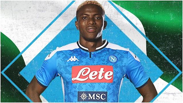 Nigeria Sensational Striker Victor Osimhen Finally Joins For Seria A Club Napoli