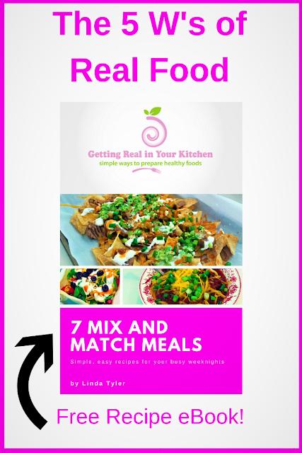 Real Food Recipe eBook