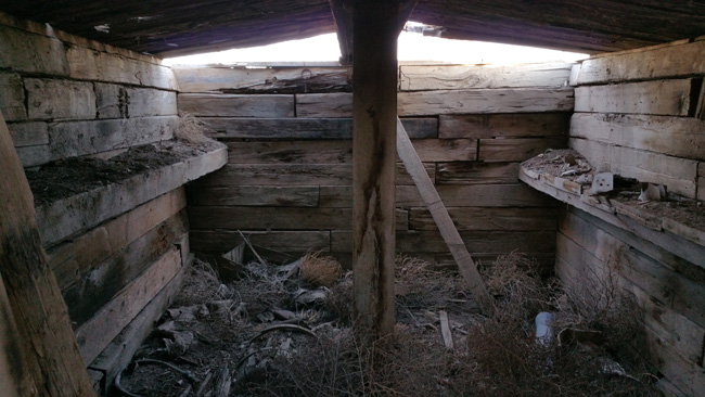 Abandoned Cellar in Cisco, Utah ghost town
