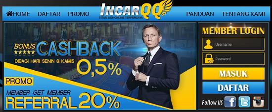 IncarQQ Agen Poker, Bandar Q, DominoQQ, AduQ, Sakong, Bandar Poker, Capsa Online Terpercaya