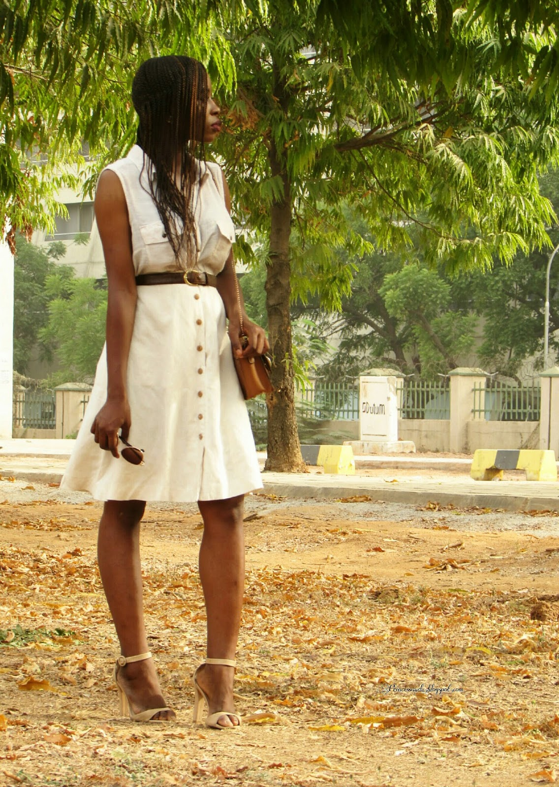 styling neutrals, nude, safari dress, earth tones, khaki