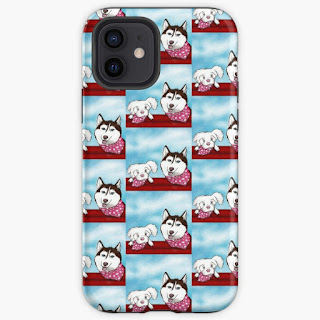 Cell Phone Cases and other dog themed product designs