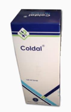 سعر ودواعي استعمال شراب كولدال Coldal طارد للبلغم