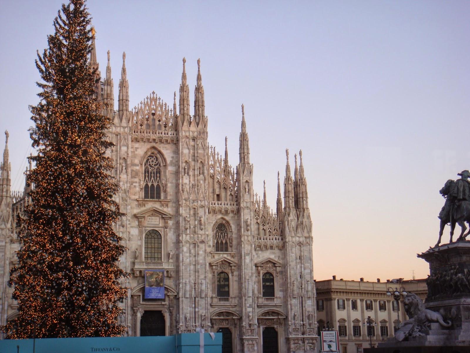 minha viagem para milão na itália
