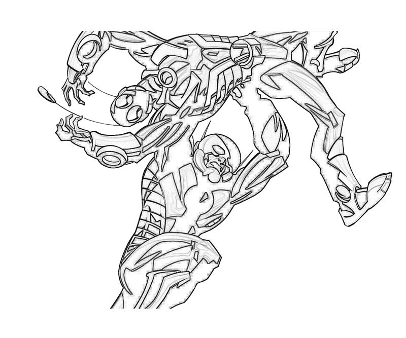Free coloring pages of ant man
