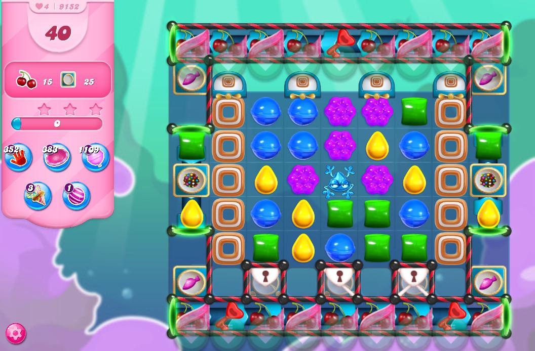 Candy Crush Saga level 9152