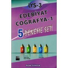 Palme LYS-3 Edebiyat Coğrafya1 5 Deneme Seti