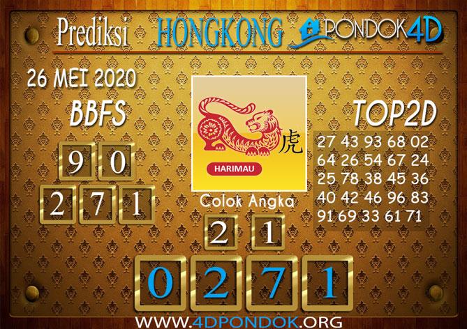 Prediksi Togel HONGKONG PONDOK4D 26 MEI 2020