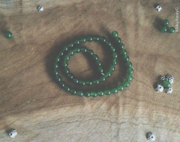 Perles en pierres naturelles d'Aventurine My Roller Stone