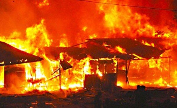 Fire Razes Dutse Ultra Modern Market In Jigawa