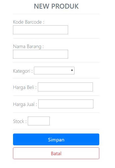 produk BARU APLIKASI PROGRAM KASIR ONLINE TERBARU - SOFTWARE KASIR