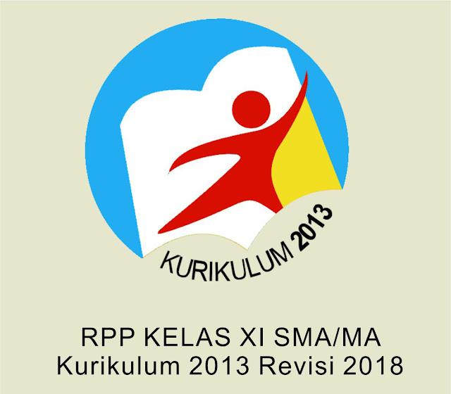 File Pendidikan RPP kelas 11 untuk SMA/SMK Kurikulum 2013 Revisi 2018