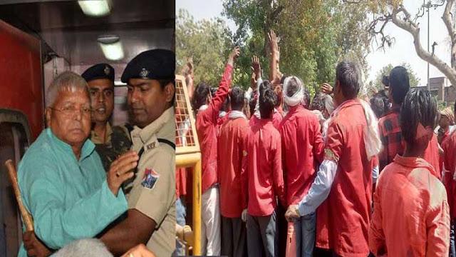 लालू यादव का दिल्ली स्टेशन पर कुलियों ने किया भव्य स्वागत, वजह जानकार चौंक जायेंगे