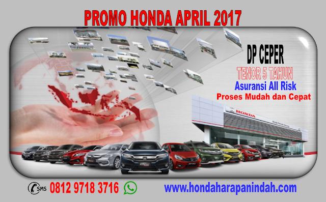 PROMO HONDA APRIL 2017