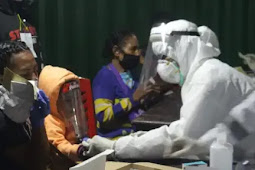 Karolis Tanawani Ungkap ASN di Setda Kepulauan Yapen Ikut Vaksinasi Covid-19