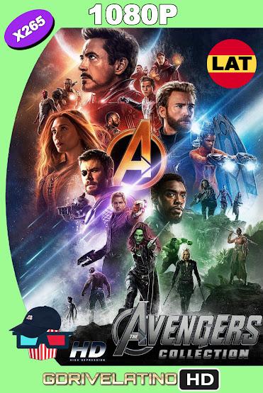 Avengers Colección (2012-2019) BDRip 1080p x265 Latino-Ingles MKV