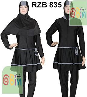 baju renang muslim syari RZB 835
