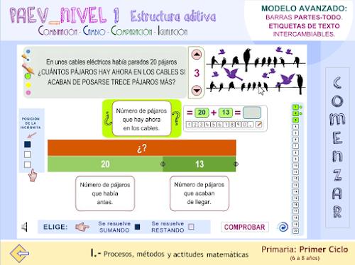 Modelo avanzado de resolución de PAEV de nivel 1.