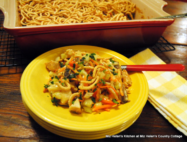 Chicken Chow Mein Casserole at Miz Helen's Country Cottage