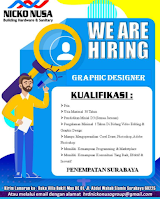 We Are Hiring at Nicko Nusa Surabaya Januari 2021