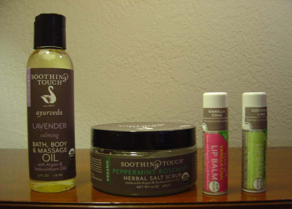Soothing Touch Organic Body Care Products