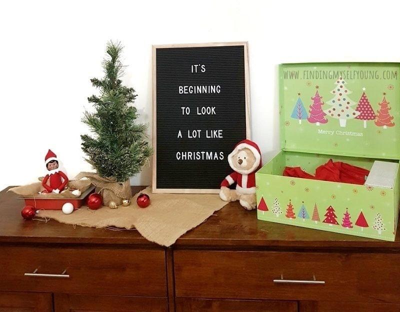 elf on the shelf arrival December 1st