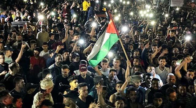 Hamas Klaim Menang Lawan Israel, Warga Gaza Pekik Takbir