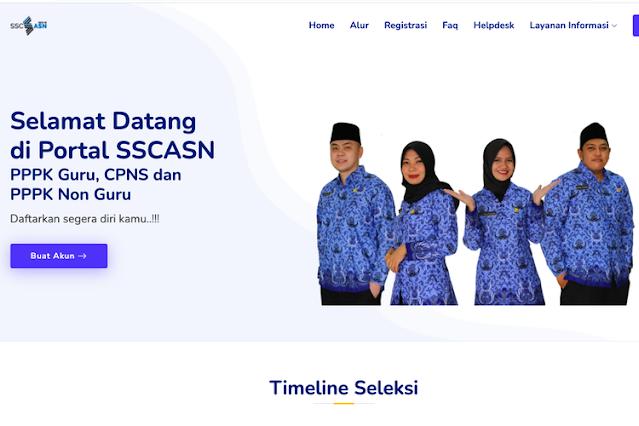 Pengumuman Seleksi Penerimaan CASN PPPK Tahun 2021