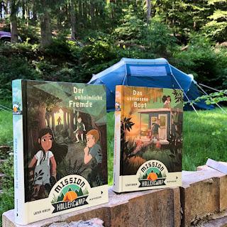 Mission Hollercamp - Die neue Kinderbuchreihe von Lena Hach
