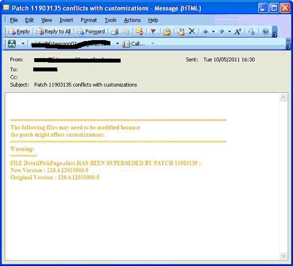 Oracle EBS Customization Patch Impact Analysis Tool - applikast