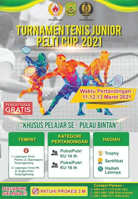 Turnamen Tenis Yunior Pelti Cup 2021