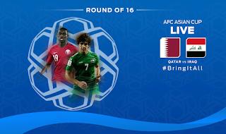 منتخب قطر يفوز على منتخب العراق فى مباراة عربية ساخنة  ويصعد الى دور 8 من كأس أمم أسيا 2019