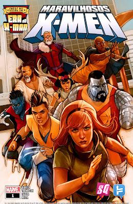 Resultado de imagem para MARAVILHOSOS X-MEN # 01