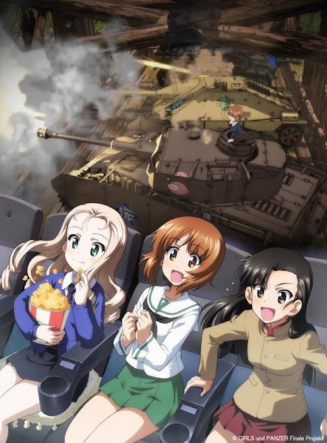La tercera película Girls und Panzer das Finale
