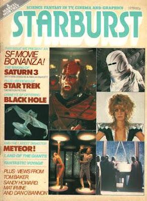 Starburst #19, Saturn 3, Star Trek, Black Hole