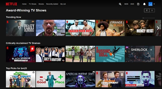 How to find upcoming latest movies and shows in netflix