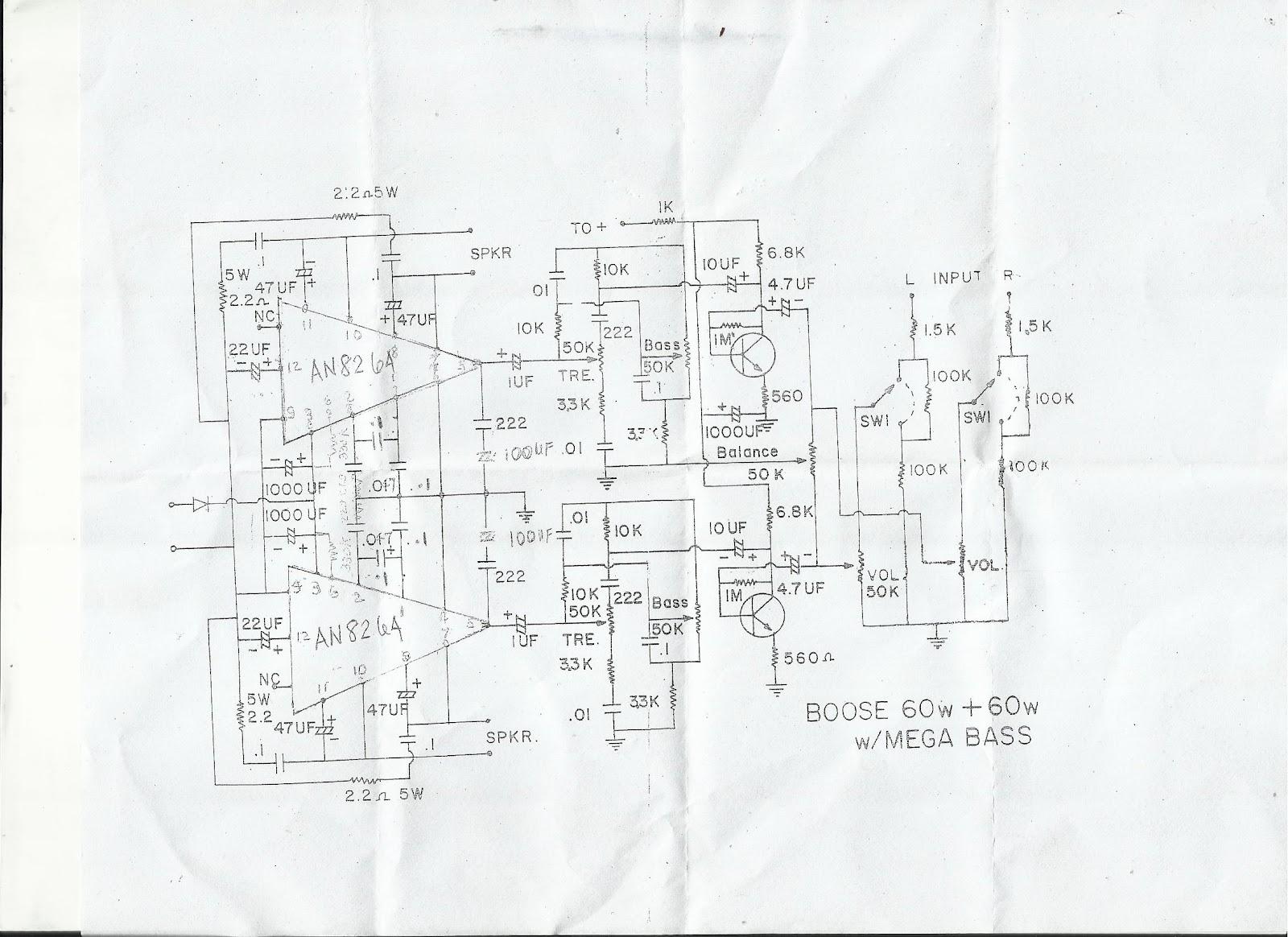 Audiokitsdiy 60w 60 W Sterero Amplifier Using An With Mega Bass